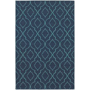 Kailani Navy/Blue Indoor/Outdoor Area Rug
