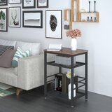 Bettina End Table with Storage by 17 Stories