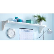 Expandable Shelf with 2 End Brackets by EZ Shelf from Tube Technology