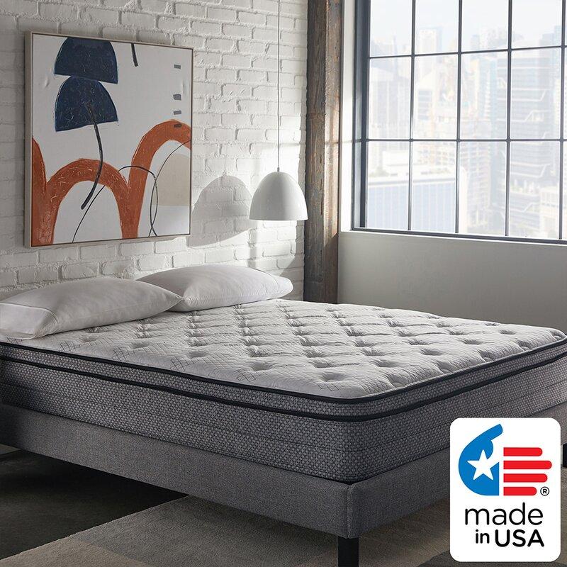 Nap Queen 12 Plush Pillow Top Hybrid Mattress Reviews Wayfair