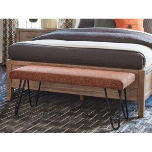 George Oliver Weisinger Upholstered Bench