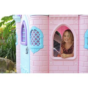 Jumbo Princess Palace 6.5' Playhouse By ECR4kids
