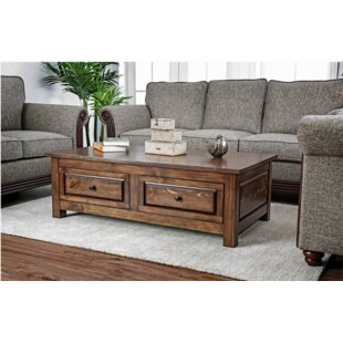 Bertha Coffee Table with Storage by Loon Peak