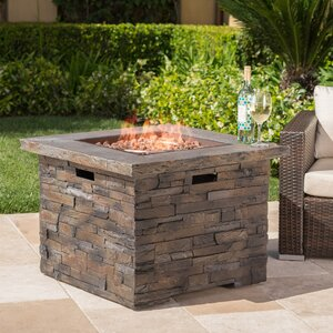 Stripling Stone Propane Fire Pit Table