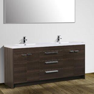 Zuzanna 84 Double Bathroom Vanity Set by Orren Ellis