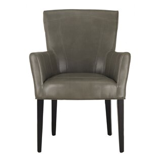 Leather Arm Chair by Adeco Trading