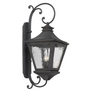 Affordable Rebecca 3-Light Outdoor Wall Lantern By Fleur De Lis Living