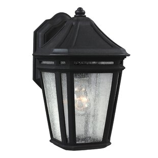 Best Deals Maxine 1-Light Outdoor Wall Lantern By Darby Home Co