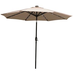 Angelica 9' Lighted Umbrella