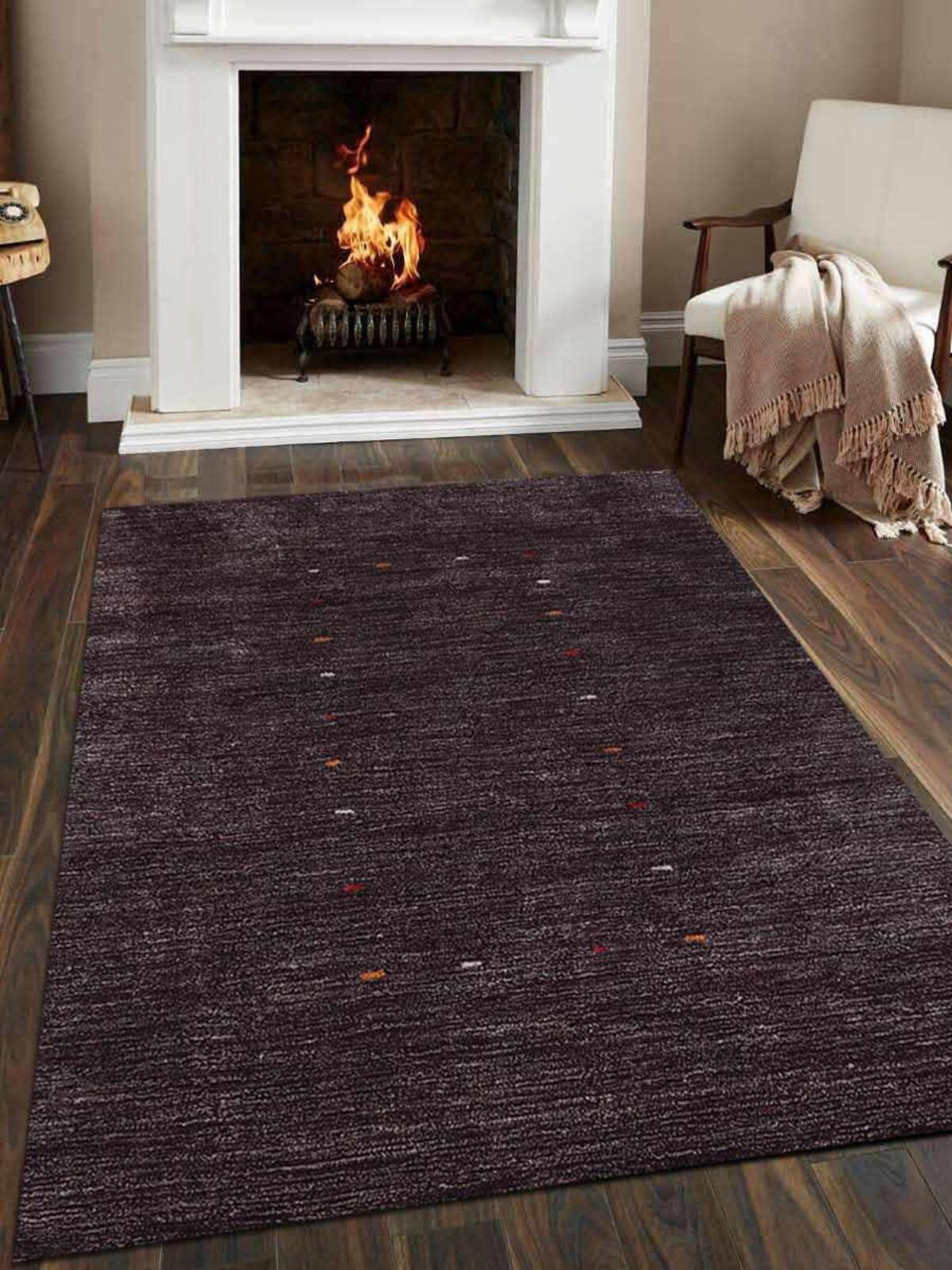 Union Rustic Paisleigh Hand Knotted Silk Brown Area Rug Wayfair