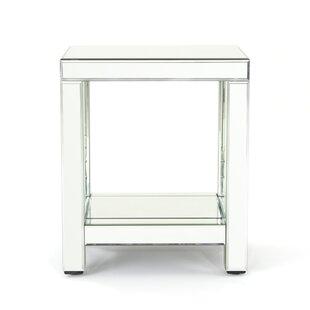 Lavanna Mirror End Table