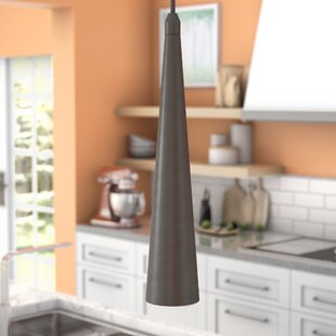 Orren Ellis Alva 1-Light Cone Pendant