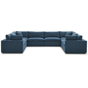 Great Price Coats Overstuffed Modular Sectional with Ottoman by Trule Teen Reviews (2019) & Buyer's Guide