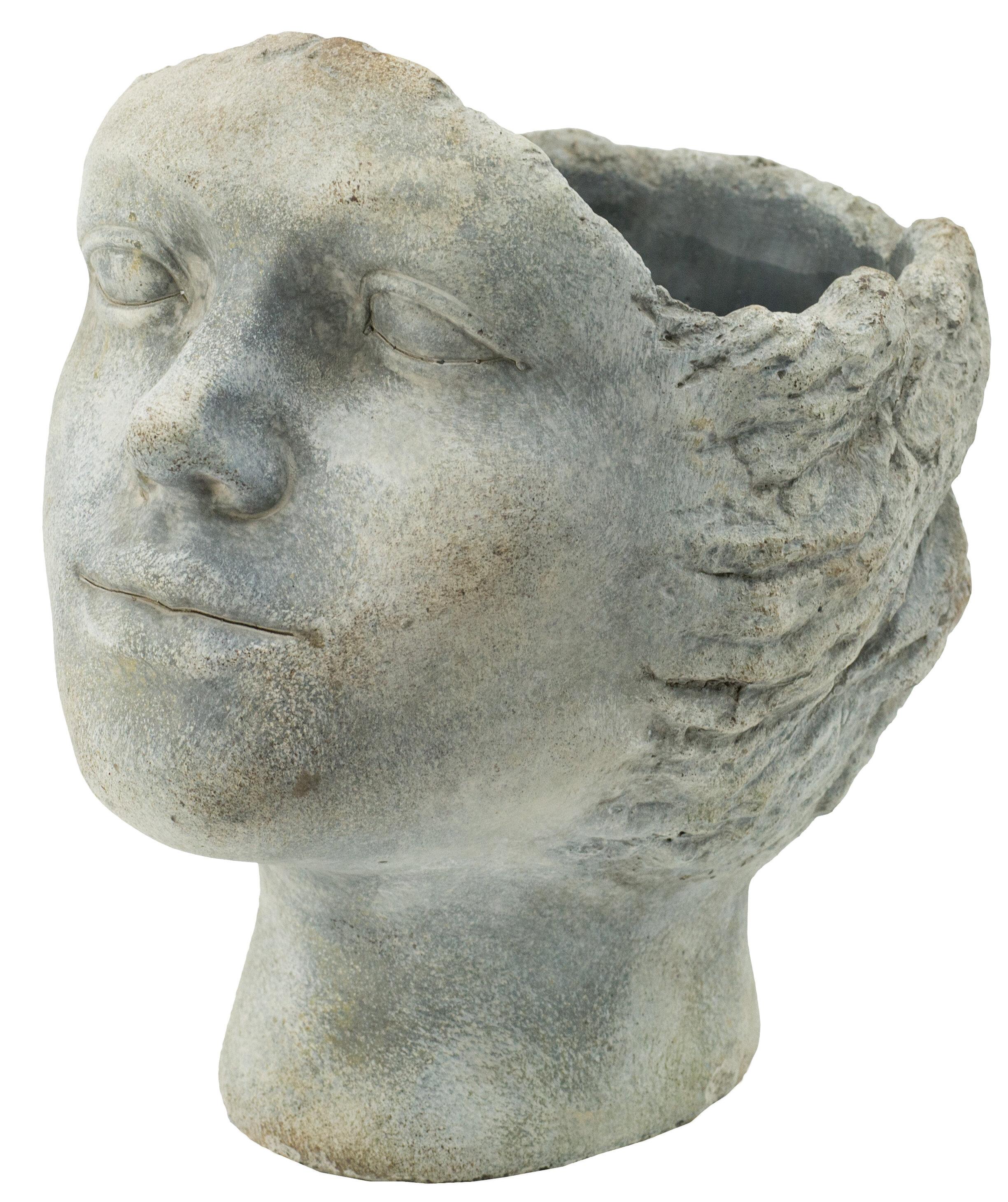 Canora Grey Ladbroke 100 Cement Statue Planter Wayfair