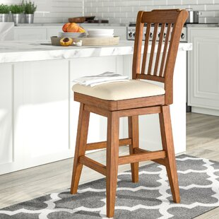 Colasanto 25.8 Swivel Bar Stool August Grove