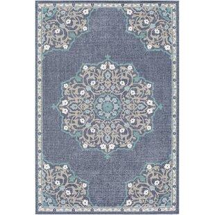 Buy Cora Floral Charcoal/Taupe Indoor/Outdoor Area Rug ByGrovelane Teen