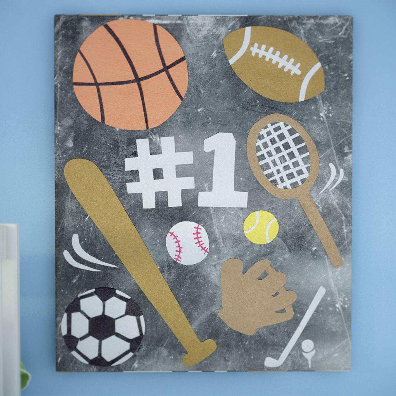 Viv Rae Sports Fan Canvas Art Wayfair