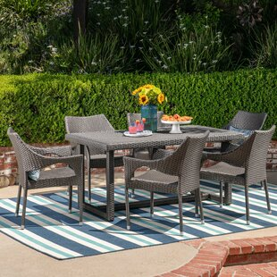 Charlton Home Leishman 7 Piece Dining Set
