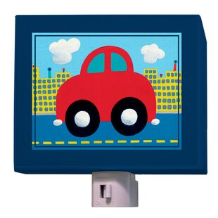 Oopsy Daisy Red Car Night Light