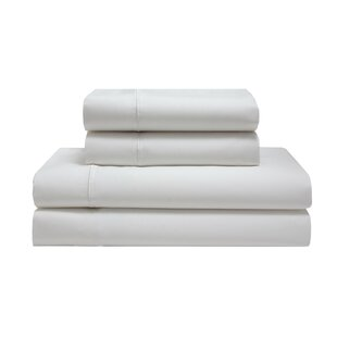 Ahrens Silky Soft Long Staple 600 Thread Count Solid Color 100% Cotton Sheet Set by Canora Grey Looking for