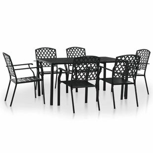 Beattie 6 Seater Dining Set By Sol 72 Outdoor