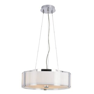 Orren Ellis Sourabh 5-Light Drum Chandelier