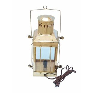 Handcrafted Nautical Decor Cargo Electric Lamp