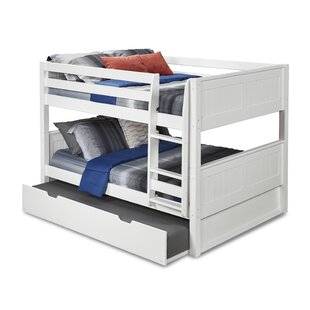 Oakwood Full Over Full Bunk Bed With Trundle by Harriet Bee Reviews