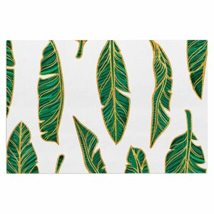 'Banana Leaf Gold' Doormat
