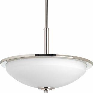 Zipcode Design Knouse 3-Light Bowl Pendant