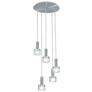 Orren Ellis Forest 5-Light Pendant