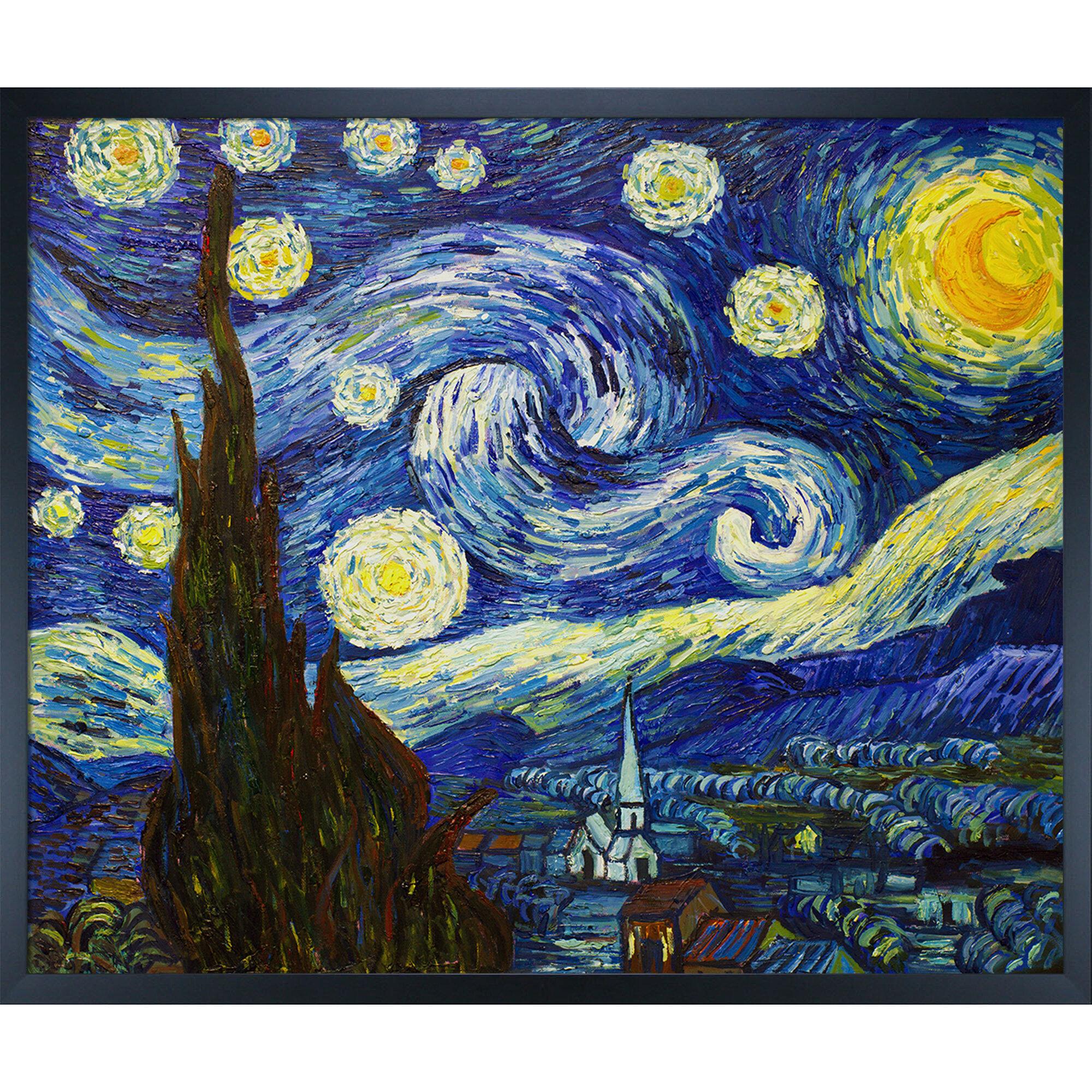Tori Home Starry Night by Vincent Van Gogh
