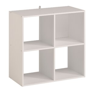 Price Check Aarav 4 Cube Unit Bookcase by Ebern Designs