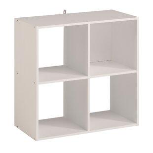 Aarav 4 Cube Unit Bookcase by Ebern Designs Purchase
