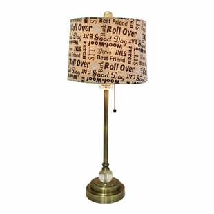 Tipton Dog Lover Print 28 Table Lamp