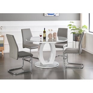 Cedrone Dining Set With 6 Chairs By Wade Logan