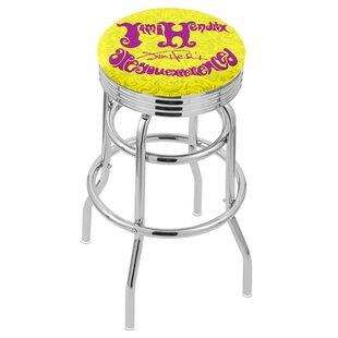 Jimi Hendrix 30 Swivel Bar Stool by Holland Bar Stool New