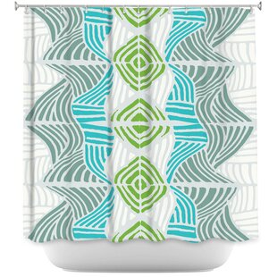 Reviews Rapids Shower Curtain ByEast Urban Home