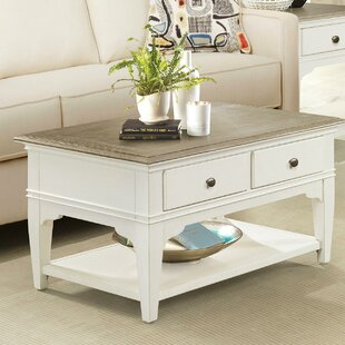 Sunday Coffee Table by Highland Dunes
