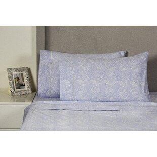 Quesada Lace 400 Thread Count 100% Cotton Sheet Set