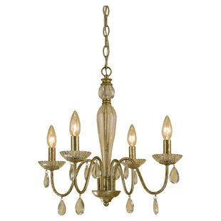 AF Lighting Judy 4-Light Candle Style Chandelier