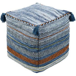 Wrightsville Bohemian Pouf by Three Posts