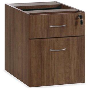 Lorell Essentials Series 2-Drawer Vertical Filing Cabinet