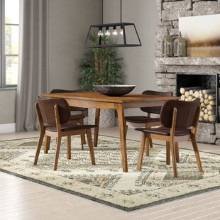 Lesko 5 Piece Dining Set by Union Rustic