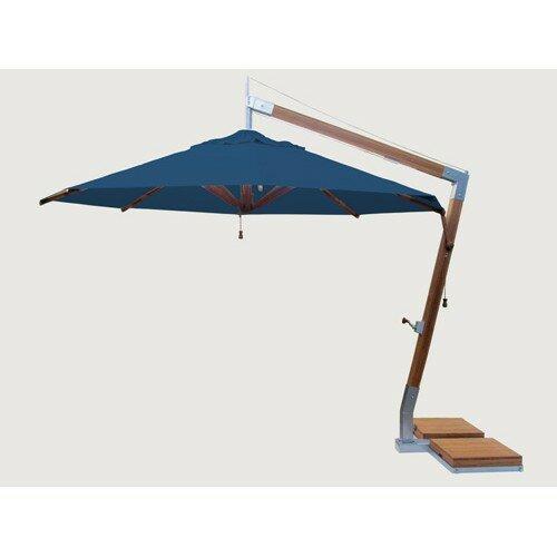 Bambrella Sidewind 11 5 Cantilever Umbrella Wayfair