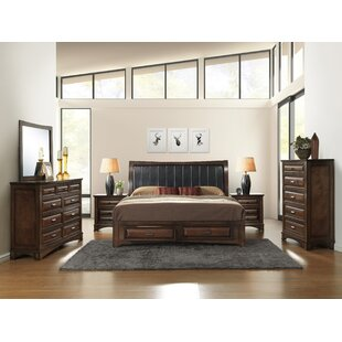 North Adams Queen Platform 6 Piece Bedroom Set