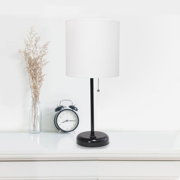 beside table lamp