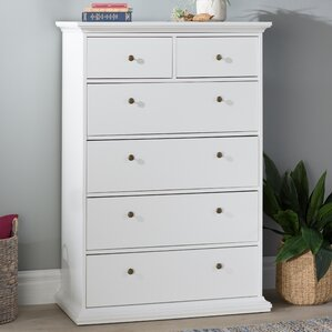 Breckenridge 6 Drawer Chest by Beachcrest Home