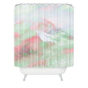 Caleb Troy Banff Painted Christmas Single Shower Curtain
