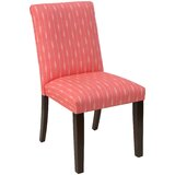 Leticia Upholstered Parsons Chair by Latitude Run®